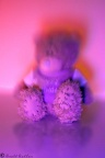 Blurred teddy